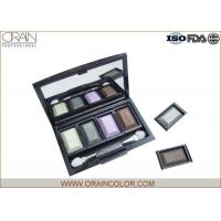 Wholesale Waterproof Makeup Eyeshadow Palette For Eye Brighten OEM / ODM Avaliable from china suppliers