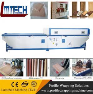 Quality pvc film furniture cabinet door vacuum membrane press machine for sale