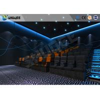 Buy cheap ISO Certificate 4D Dynamic Cinema Equipment With Pneumatic Customize Motion Chairs from wholesalers