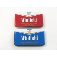 Wholesale Winfield Quality Cigarette Tin Can Metal Cigarette Case Cigarette Case With Lighter from china suppliers