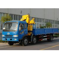 Wholesale High Quality Commercial Knuckle Boom Truck Mounted Crane , 6300kg Weight for Lifting from china suppliers