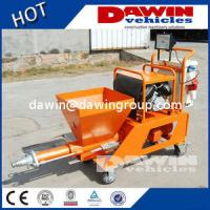 China Semi-Automatic Mortar Concrete Mortar Spraying Plastering Pump Machine on sale