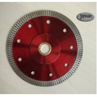 Wholesale 125mm Sintered Ceramic Tile Saw Blades , Cyclone Mesh Turbo Diamond Blade from china suppliers