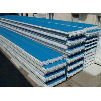 Wholesale Zinc Plating Steel Corrugated Sandwich Panel , Metal Roofing Panels from china suppliers