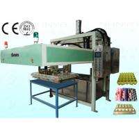 Wholesale Semi Automatic Pulp Tray Machine , Eco Paper Moulding Pulp Egg Tray Forming Machine from china suppliers