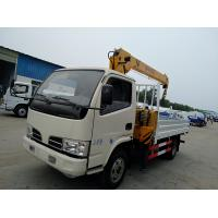 Wholesale HOT SALE!CLW RHD 3.2tons mobile truck mounted crane, factory sale best price CLW brand 3.2tons cargo truck with crane from china suppliers