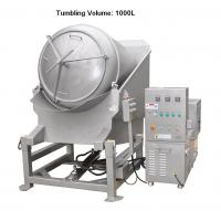 Wholesale 1000L Vacuum Meat Marinator Removable Barrel 5.4 / 10.8 Rpm Tumbler Rotation Speed from china suppliers