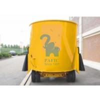 Wholesale Yellow Color Movable Upright Animal Feed Mixer Equipment For Rangeland from china suppliers