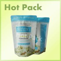Quality Original Sea Salt Skinny Vitamins Matte Printed Stand Up Pouches For Popcorn for sale
