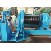 Wholesale JK type fast speed  electric steel wirerope 8 ton winch in underground mining from china suppliers