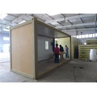 Wholesale Demountable Prefab Container House With EPS Sandwich Panel Wall from china suppliers