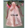 Buy cheap satin virgin hair extension bag, satin bag for hair package, satin hair drawstring bag from wholesalers