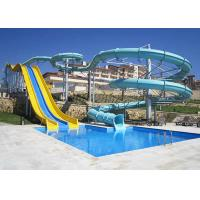 Wholesale Combination fiberglass swimming pool water slide from china suppliers
