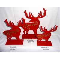 Buy cheap Christmas Reindeer Table Decorations, holiday gifts, indoor decorations, business gifts from wholesalers
