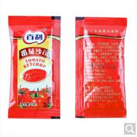 Wholesale Good Barrier Custom Printed Aluminum Foil Plastic Roll Film For Tomato Ketchup Mustard Salad Sauce Packaging from china suppliers