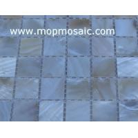 Wholesale Straight angle natural color shell mosaic from china suppliers