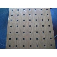 Wholesale Soundproof Wall MDF Acoustic Panel With Natural Wood Veneer Finish BT new pattern from china suppliers