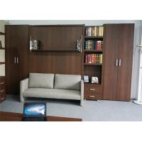 Wholesale European Style Space Saving Murphy Wall Sofa Folding Bed With Bookshelf from china suppliers
