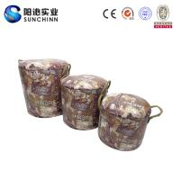 PU Leature Printing Wooden Furniture/Stool/Round Stool/Chair/Home Accents/Dog House/Dog Kennel