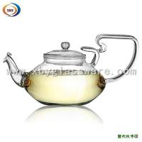 Wholesale Pyrex glass tea kettle with handle from china suppliers
