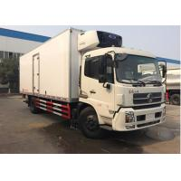 Wholesale Foton 4x2 5 Tons Refrigerated Box Van , Freezer Box Van For Fruits / Vegetables from china suppliers