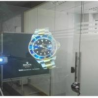 Quality 3D Holographic Rear Projection Film Adhesive Self Glass 170° View Angle for sale