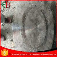 Wholesale GB 5680 ZGMn 13-4 Round Wear Castings 30mm Thick Impact Value ≥150J EB12014 from china suppliers