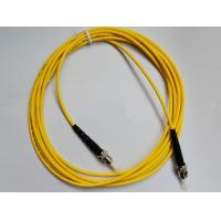 Wholesale Fiber Optic Patch Cord ST-ST Single mode , Simplex(SM SX) easy for operation for FTTX + LAN from china suppliers