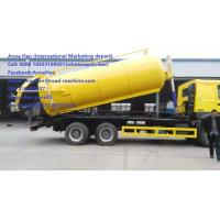 Quality SINOTRUK 6M3 Sewage Suction Truck 500r/Min 290 HP EURO II 12.00R20 Radial Tire for sale