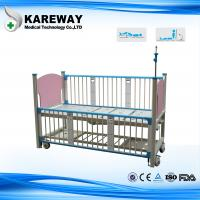 Wholesale Safety Pink Manual Baby In Hospital Bed Two Cranks With Safe Guard Rails from china suppliers