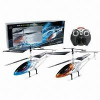 Wholesale 3.5CH I/R Metal Helicopters w/GYRO, Made of ABS/Nylon with LED Lighting and 6 x AA Battery from china suppliers