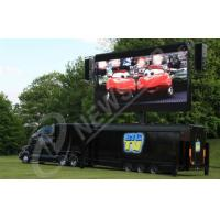 Wholesale Static DIP P10 Truck Mounted LED Display Video for Events , High Brightness from china suppliers
