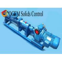 Wholesale decanter centrifuge screw pump,solids control screw pump from china suppliers