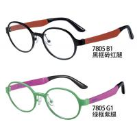 Wholesale PEI Flexible Plastic Glasses Frames , Optical Glasses Frames Red Purple Round from china suppliers