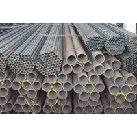 Buy cheap ASTM A53 ERW Welded Steel Pipes, S235JR Pipe, Welding Steel Tube 5.8M, 6M, 11.8M, 12M Customized from wholesalers