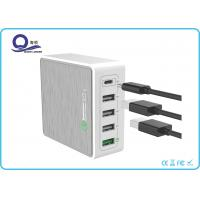 Quality 5 Ports 40W Qualcomm Quick Charger 3.0 Type C Output charger for Universal Charge for sale