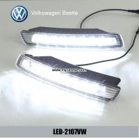 Wholesale VW Beetle DRL LED Daytime Running Lights car exterior led light kit from china suppliers