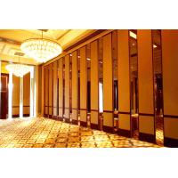 Wholesale Commercial Decorative Interior Sliding Door Soundproof Material Hotel Acoustic Room Divider from china suppliers