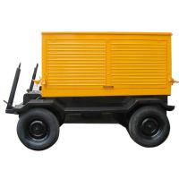 Wholesale Silent Type Mobile Diesel Generator Trailer Mounted Low Fuel Consumption from china suppliers
