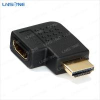 Wholesale Right angle male to female HDMI adapter V1.4 from china suppliers