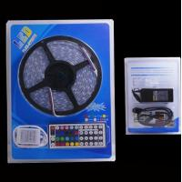 China 5050 rgb led strip,44-Key IR Remote Controller, 36W Power Supply Blister package on sale