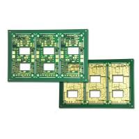 Wholesale High Frequency PCB HDI Drill Printed Boards , 8 Layer PCB Green With 50 um Laser Vias from china suppliers