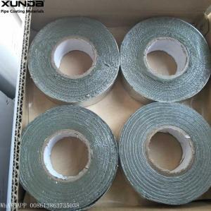Wholesale Gray / Black Butyl Sealing Tape , Aluminium Lamination Butyl Flashing Tape from china suppliers