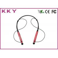 Quality Super Light Design Neckband Bluetooth Headphones With Mic 104dB Sensitivity for sale
