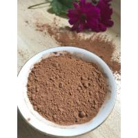 Quality NF02 Dark Brown Natural Low Fat Cocoa Powder 4%-8% Fat Content , 5.0-5.8 PH Value for sale