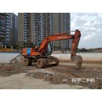Wholesale Cheap price used Hitachi EX100WD  wheeled excavator with good condition for sale from china suppliers