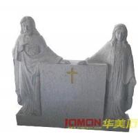Wholesale G603 Tombstone, Carved Monument (XMJ-AM14) from china suppliers