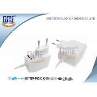 Wholesale 47Hz - 63Hz AC DC Power Adapter EU Plug White 50000 Hours MTBF from china suppliers