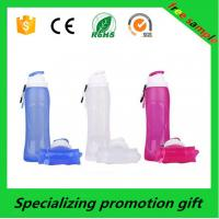 Wholesale 500ml 750ml Sports Outdoor Essential Products Collapsible Water Bottle Promotional from china suppliers