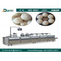 Wholesale Cereal Bar Forming Machine , Puffed Rice Bar Making Machine 300~500kg Per Hour from china suppliers